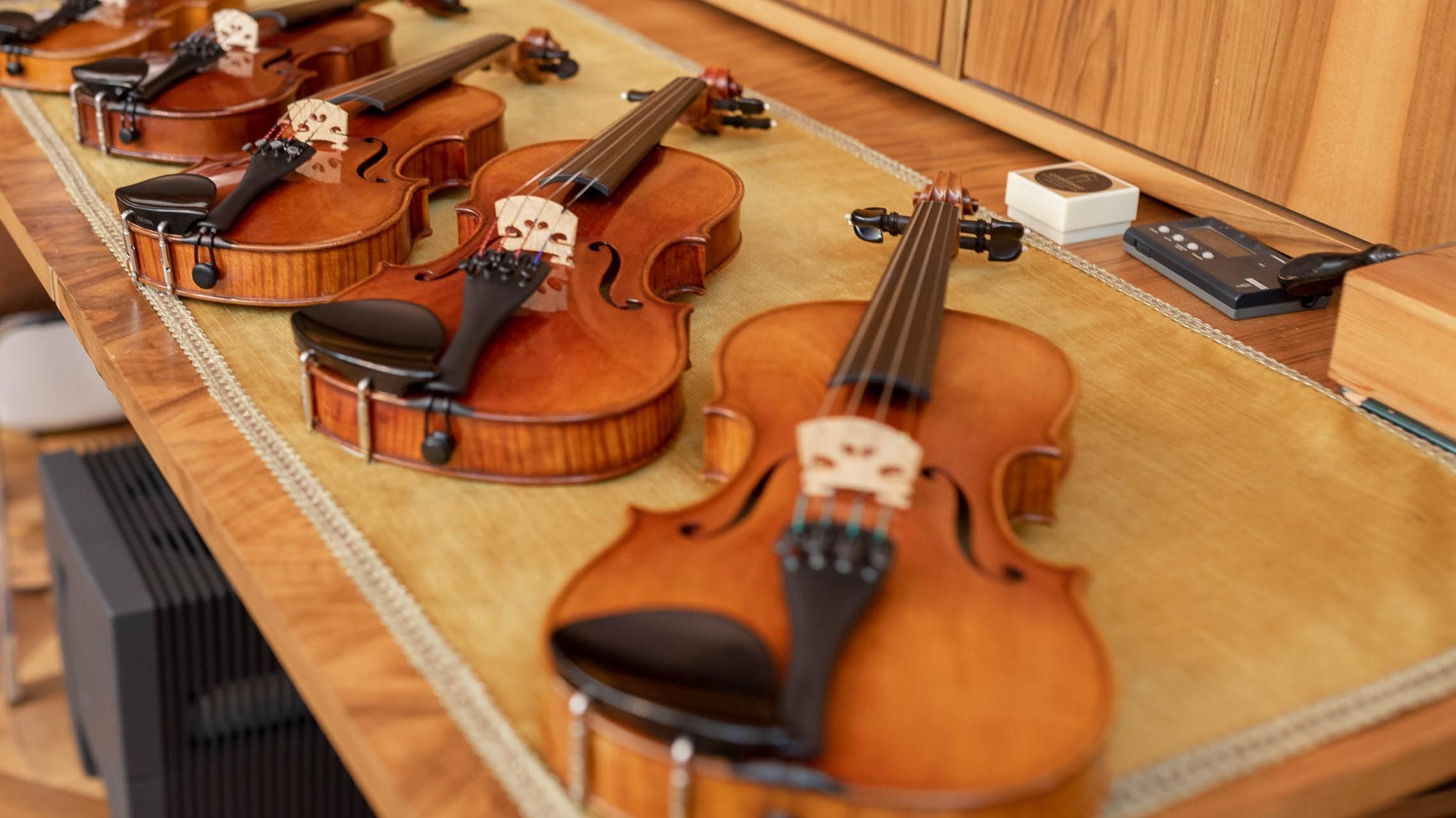 Geige mieten, Bratsche mieten, Cello mieten, Kontrabass mieten